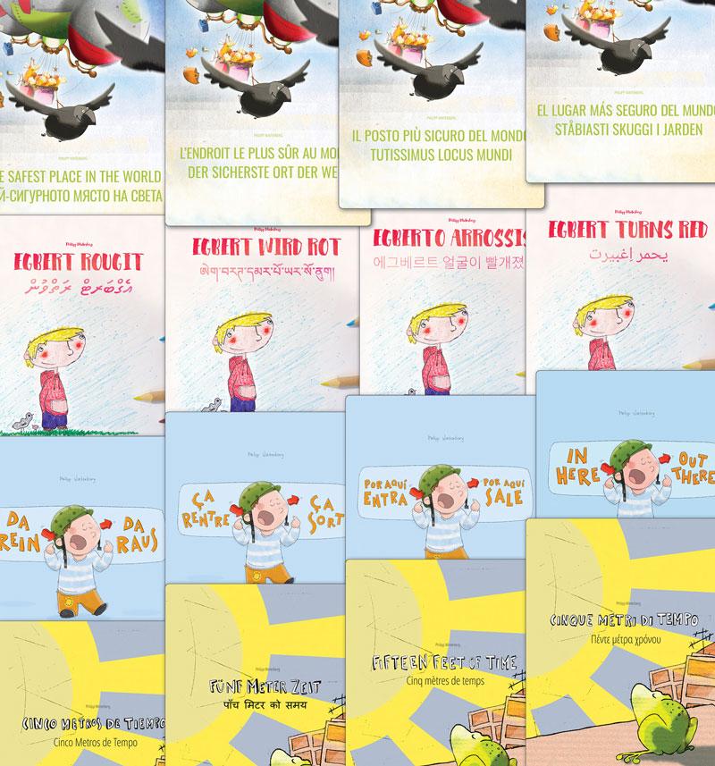 Libri: 'Egberto arrossisce', 'Entra qui, esce lì!' ...
